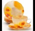 Чай набор стеклянный